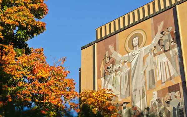 Hesburgh Library Word of Life Mural